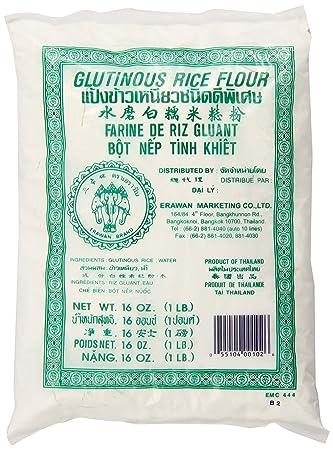 Amazon glutinous rice flour 16 ounce erawan sweet rice flour glutinous rice flour 16 ounce erawan ccuart Images
