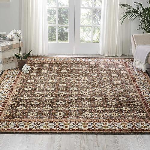 Nourison Aria Oriental Vintage Area Rug, 7 Feet 10 Inches by 10 Feet 7 10 x 10 , Grey