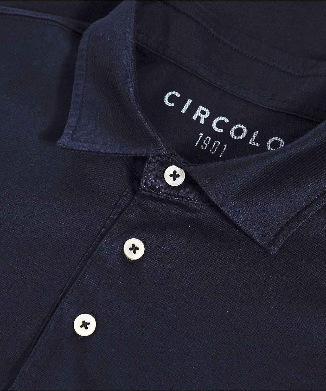 Circolo 1901 Hombres Camiseta Polo de algodón Azul: Amazon.es: Ropa y accesorios