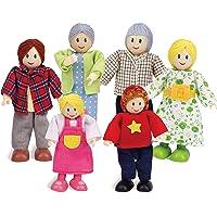 Hape- Familia de muñecas Europea (Barrutoys E3500)