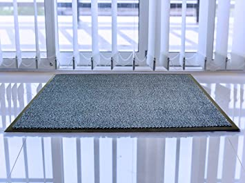 "frecor2436bl Blue Ribbed Doortex Ribmat Indoor Entrance Mat Blue 24/"" X 36/"""