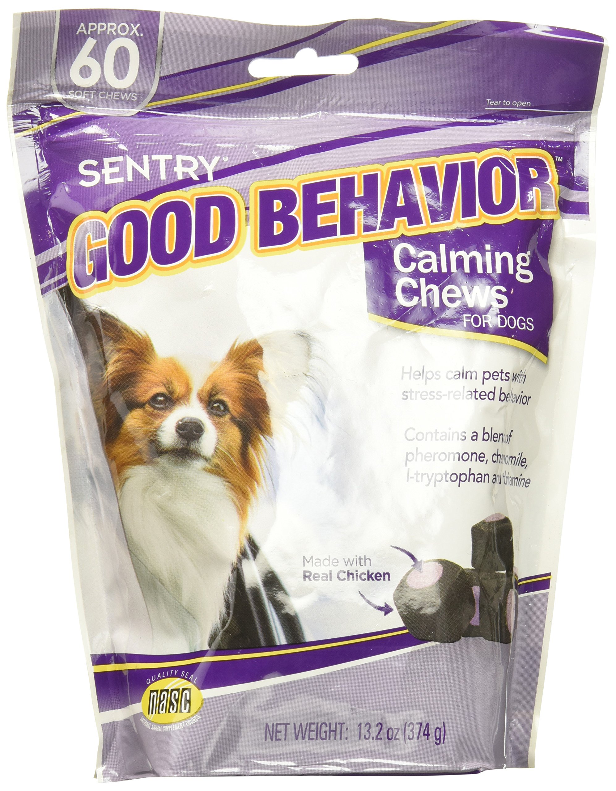 Sergeants Good Behavior Pheromone Technology Calming Dogs 60ct