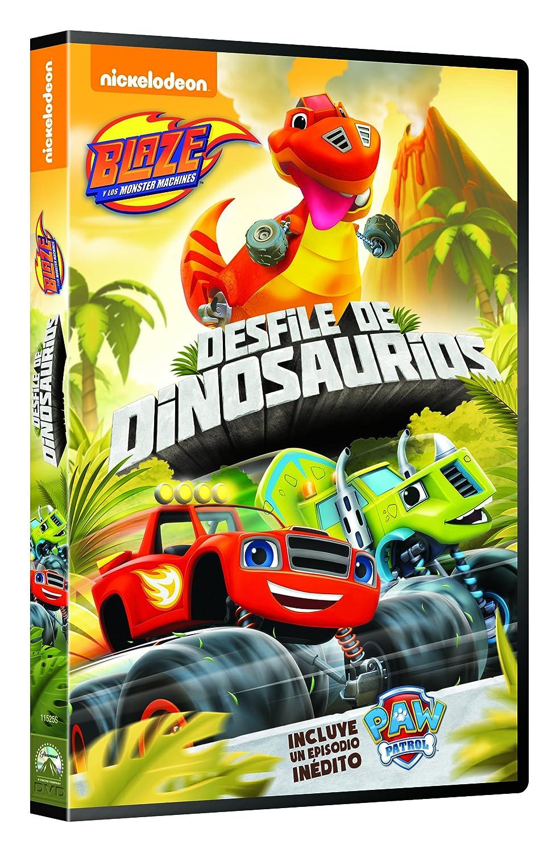 Blaze Y Los Monster Machines 10: Desfile De Dinosaurios [DVD]