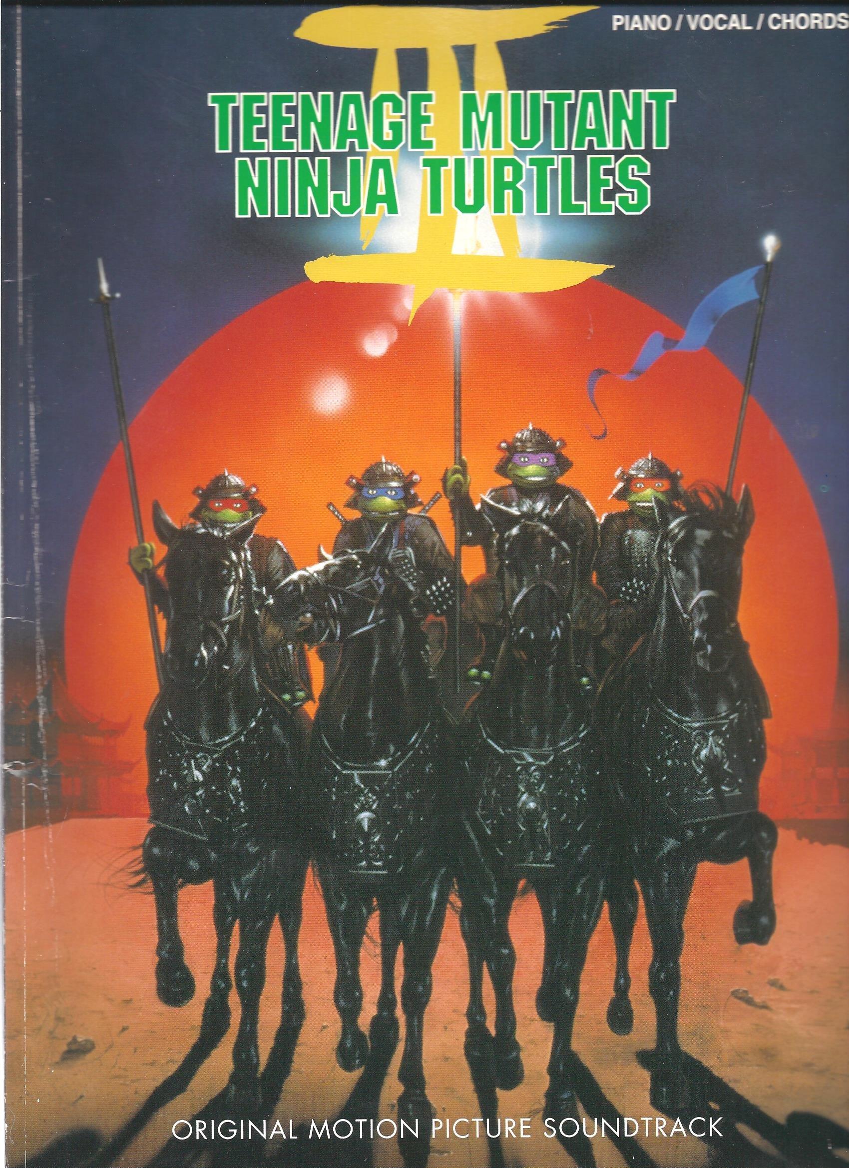 Teenage Mutant Ninja Turtles III (3) Piano/Vocal/Chords ...