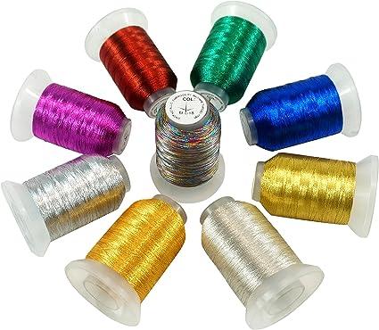 bobine fil métallique or ou argent au choix neuf