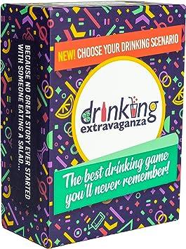 Extravaganza Juegos de Beber para Adultos – Extravagancia Divertido Juego de Cartas para Adultos: Amazon.es: Juguetes y juegos