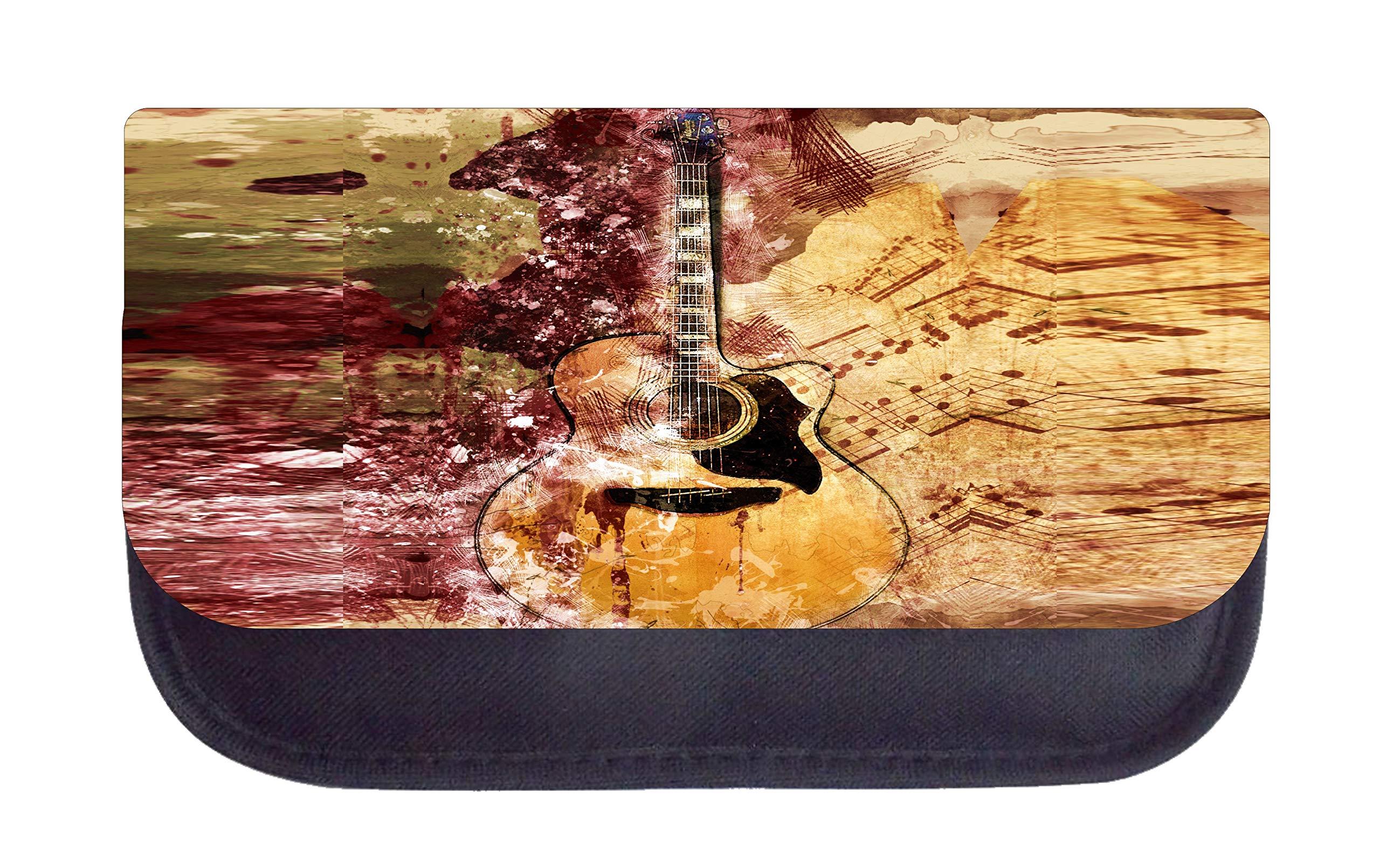 Music Guitar Art School Bag Set by Rosie Parker Inc.
