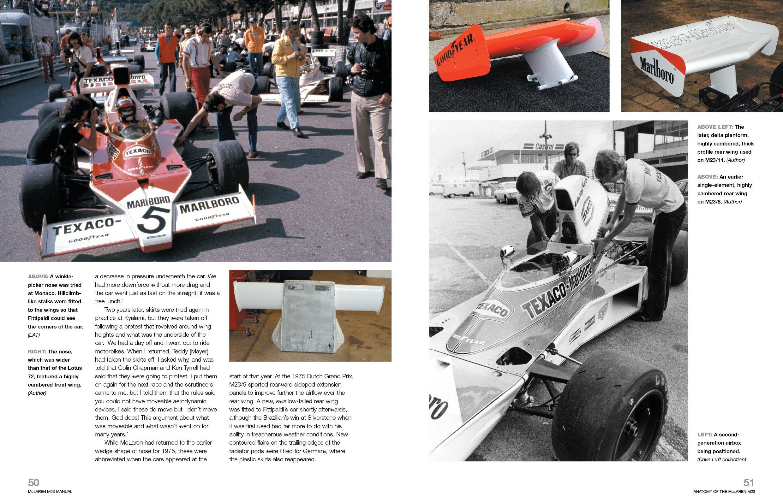 Mclaren M23 1973 Onwards All Marks Owners Workshop Manual Ian