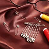 Officepal 250-Piece Safety Pins, Size 3, 1.8inch