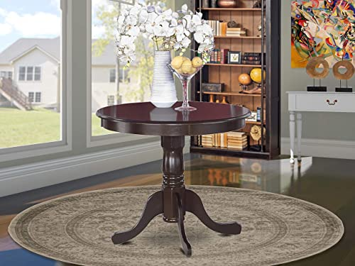 East West Furniture P Antique Mid-Century Dining Table