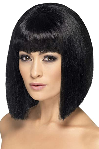 Smiffys Women's Coquette Wig Short with Fringe
