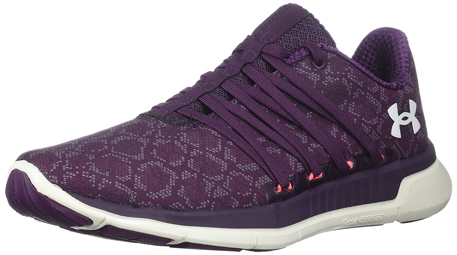 Under Armour Women's Charged Transit Running Shoe B071Z914GL 6.5 M US|Merlot (501)/Ivory