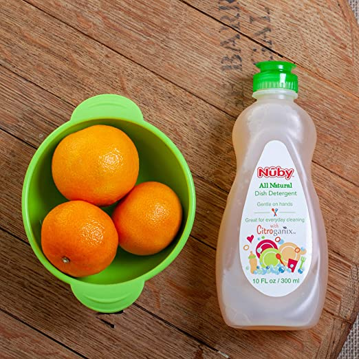 Nuby All Natural Baby Bottle Dish Liquid