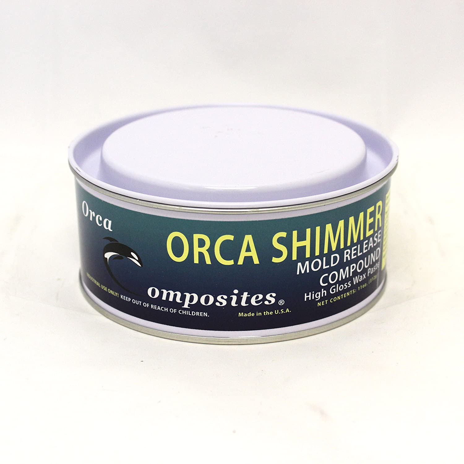 Orca Shimmer Mold Release Compound High Gloss Paste Wax Orca Composites