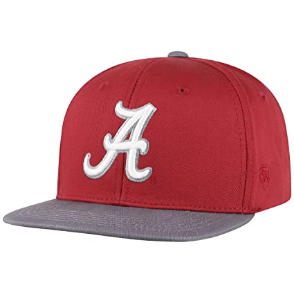 new concept 6d029 953c4 Top of the World Alabama Crimson Tide Maverick Youth Flat Bill Snapback Adjustable  Hat