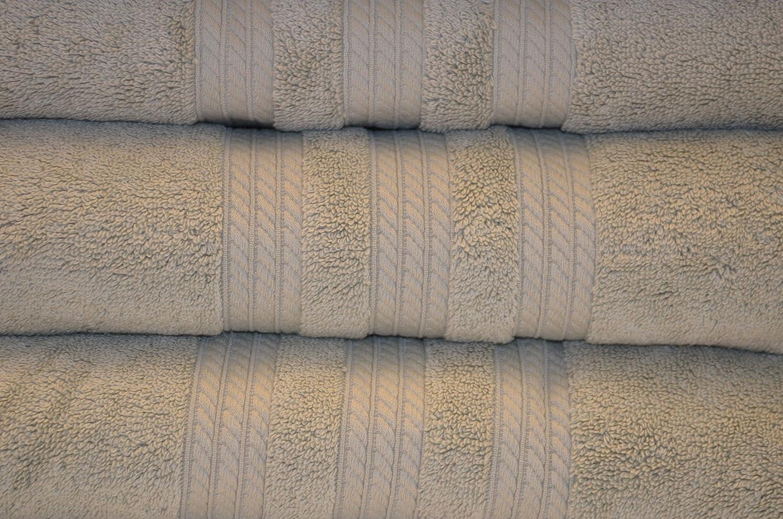 Toalla 80 x 150 cm 800 gr/m² color verde 100% algodón Egyptien en ...