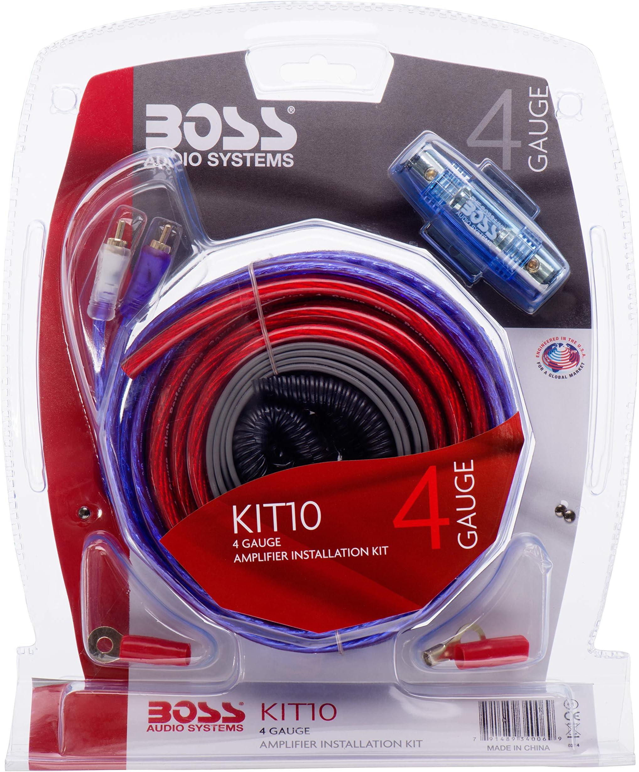 car amplifier wiring kits amazon com rh amazon com car audio wiring diagram car audio capacitor wiring diagram