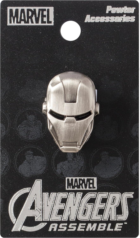 Marvel Pin de Solapa de Peltre con Cabeza de Iron Man