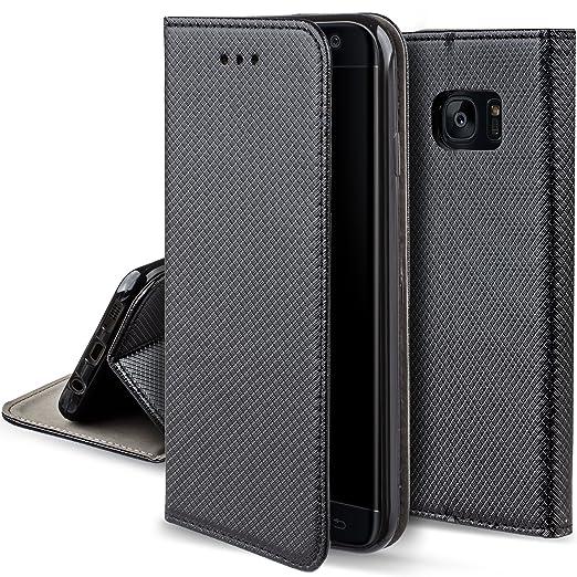 7 opinioni per Cover Samsung S7 Edge Nero- Custodia a