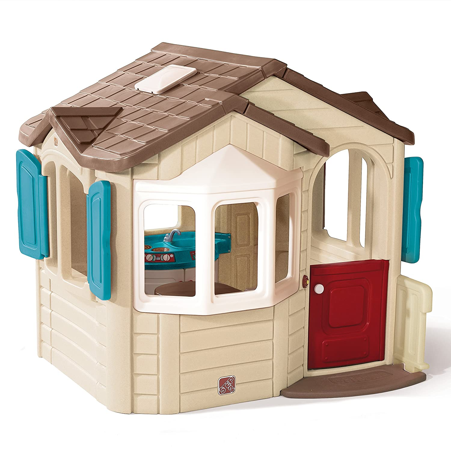 amazon com step2 welcome home playhouse toys u0026 games