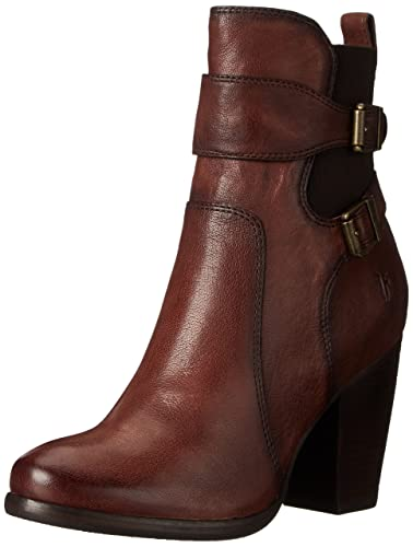 FRYE Women's Patty Gore-BLFLE Boot, Chocolate, ...