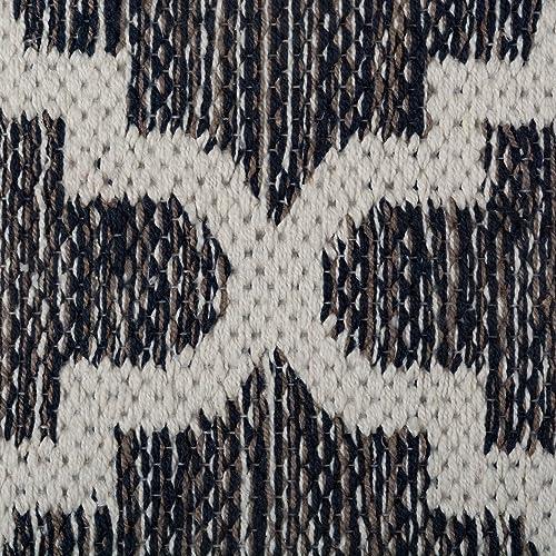 DII CAMZ10421 Indoor Flatweave Cotton Handloomed Yarn Dyed Woven Reversible Area Rug