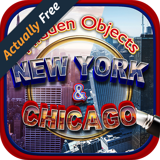 [Hidden Object New York to Chicago Adventure – Objects Time Puzzle, Picture Seek & Find Games FREE] (Halloween Adventure New York)