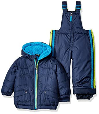 28c494ccb04e Amazon.com  Pacific Trail Baby Boys 2pc Snowsuit