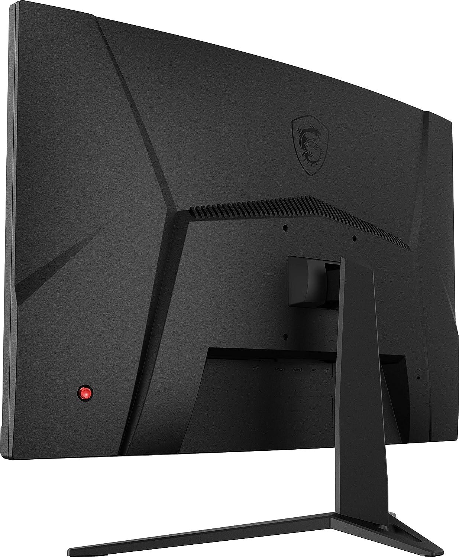 AMD Freesync Tempo di risposta 1ms 1920x1080 Frequenza 144Hz Pannello VA Display 16:9 Full HD VESA 100x100 Curvatura 1500R MSI Optix G24C4 Monitor Gaming 24 Curvo
