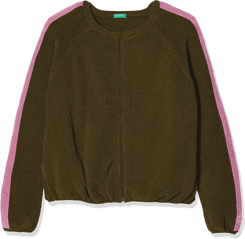 United Colors of Benetton Baby-M/ädchen Completo Felpa E Pantalone Bekleidungsset
