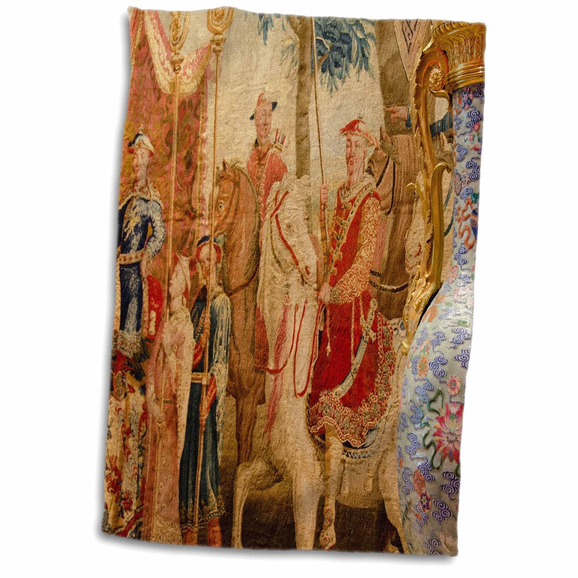 3D Rose acau. Wynn Hotel and Casino. Chinoiserie Tapestry. TWL_187621_1 Towel, 15'' x 22''
