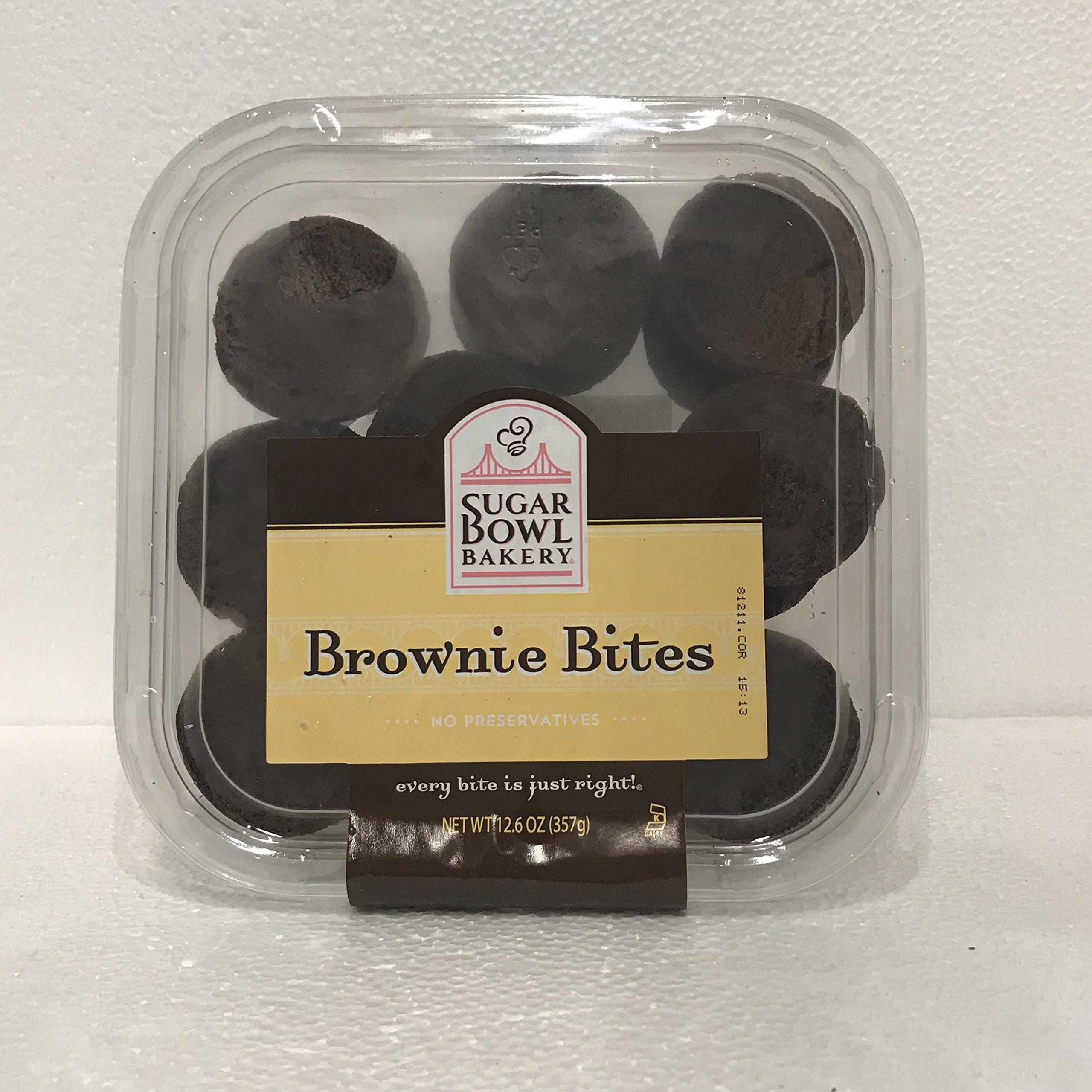 Sugar Bowl Bakery Brownie Bites 12.6 oz Pack of 3
