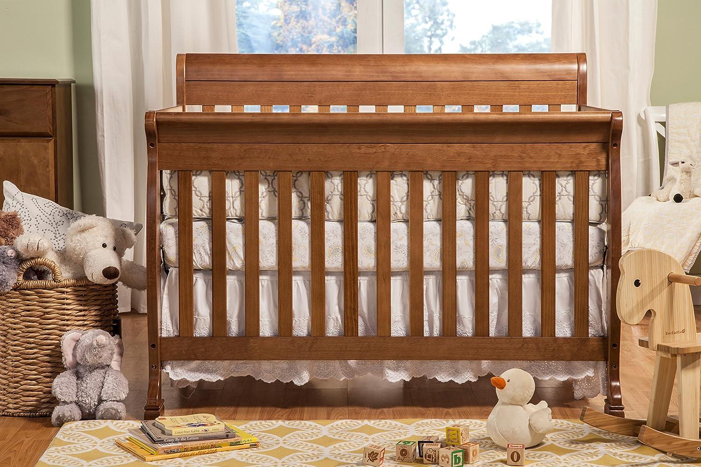 Amazon.com : DaVinci Kalani 4-In-1 Convertible Crib, Chestnut : Baby