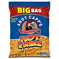 Deals on 8 Pack Andy Capps Big Bag Hot Fries, 8 oz,
