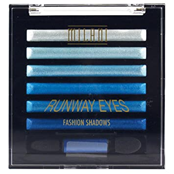 Image result for milani blue runway eyeshadows