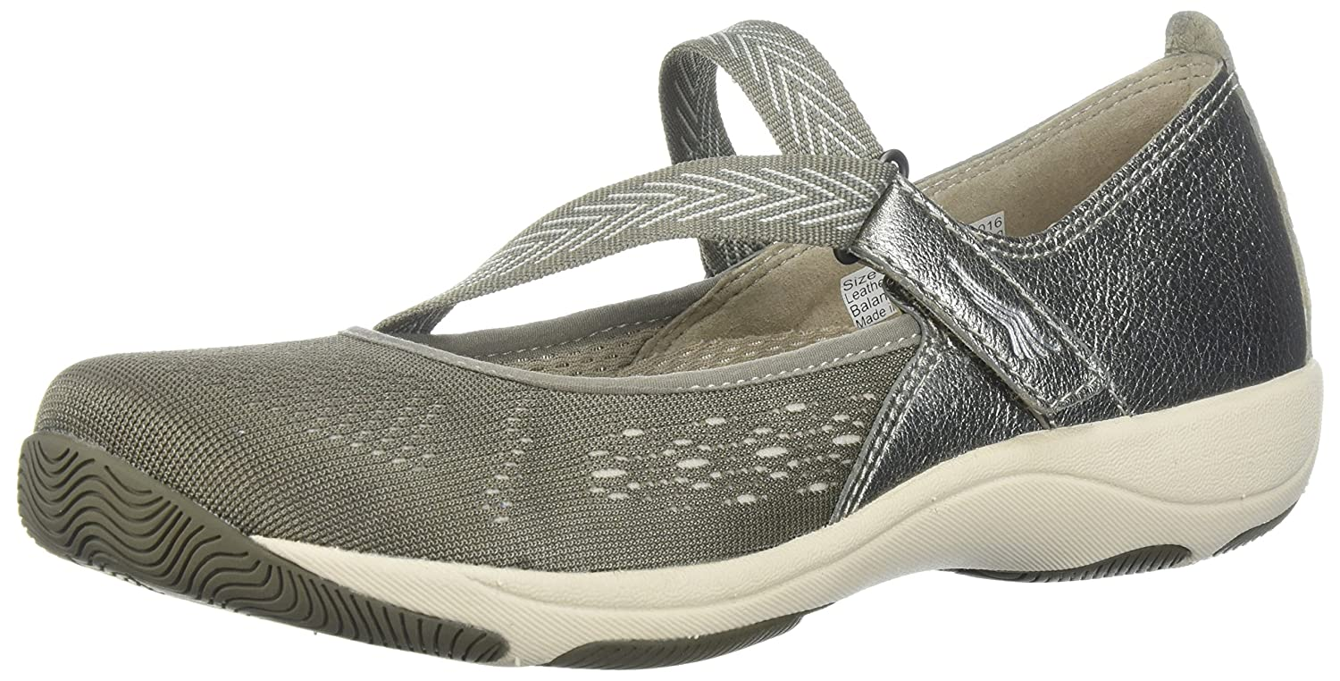 Dansko Women's Haven Mary Jane Flat B072WGMDJP 39 M EU (8.5-9 US)|Taupe Metallic