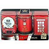 English Teas City of London 1063 Thé anglais traditionnel dans mini-boîtes à thé