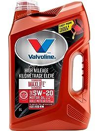 Maxlife Higher Mileage Motor Oil 5W20, 5L