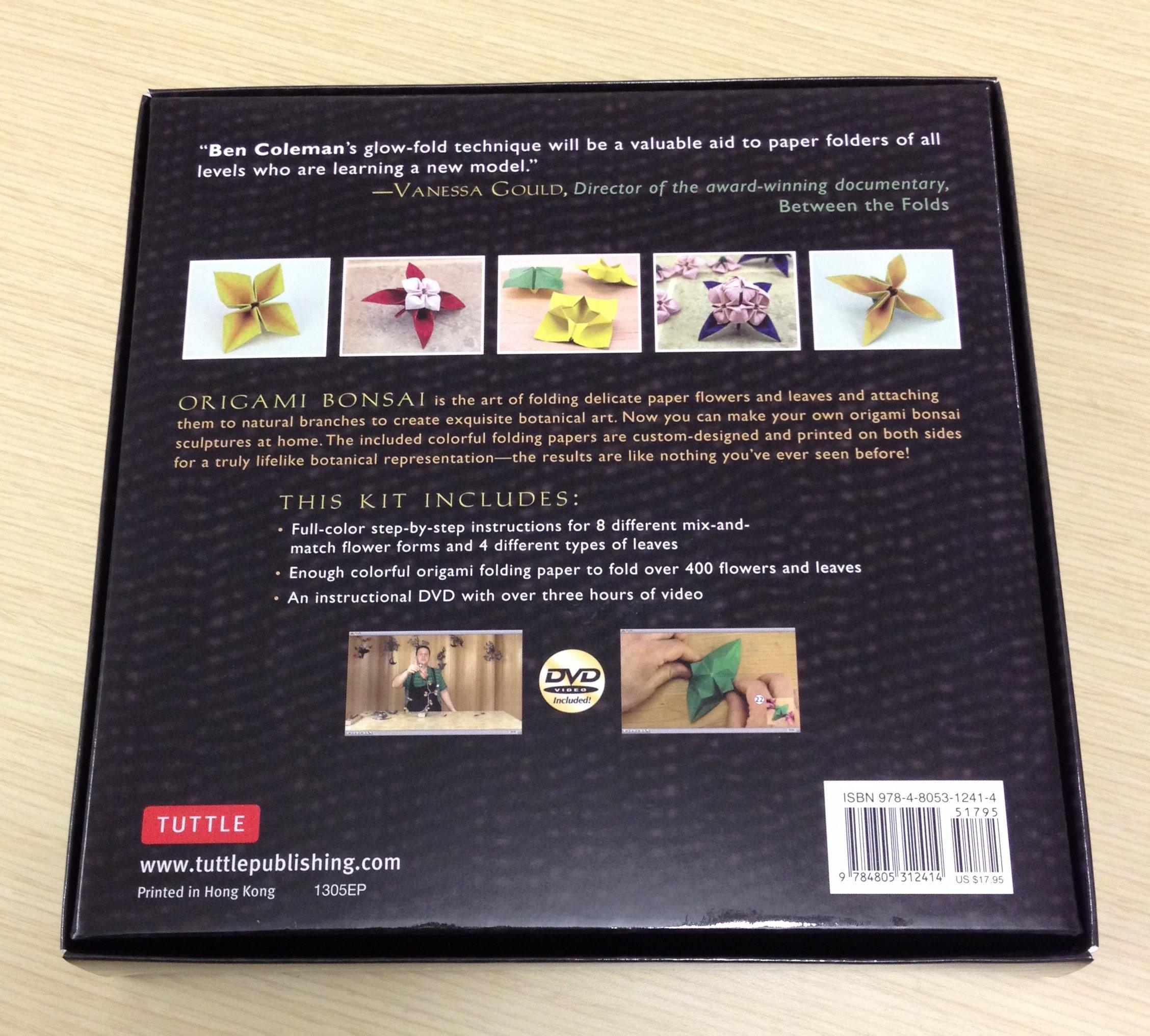 Amazon Origami Bonsai Kit Create Beautiful Botanical