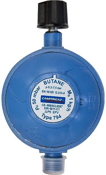 CADAC EN417 regulator 50mbar