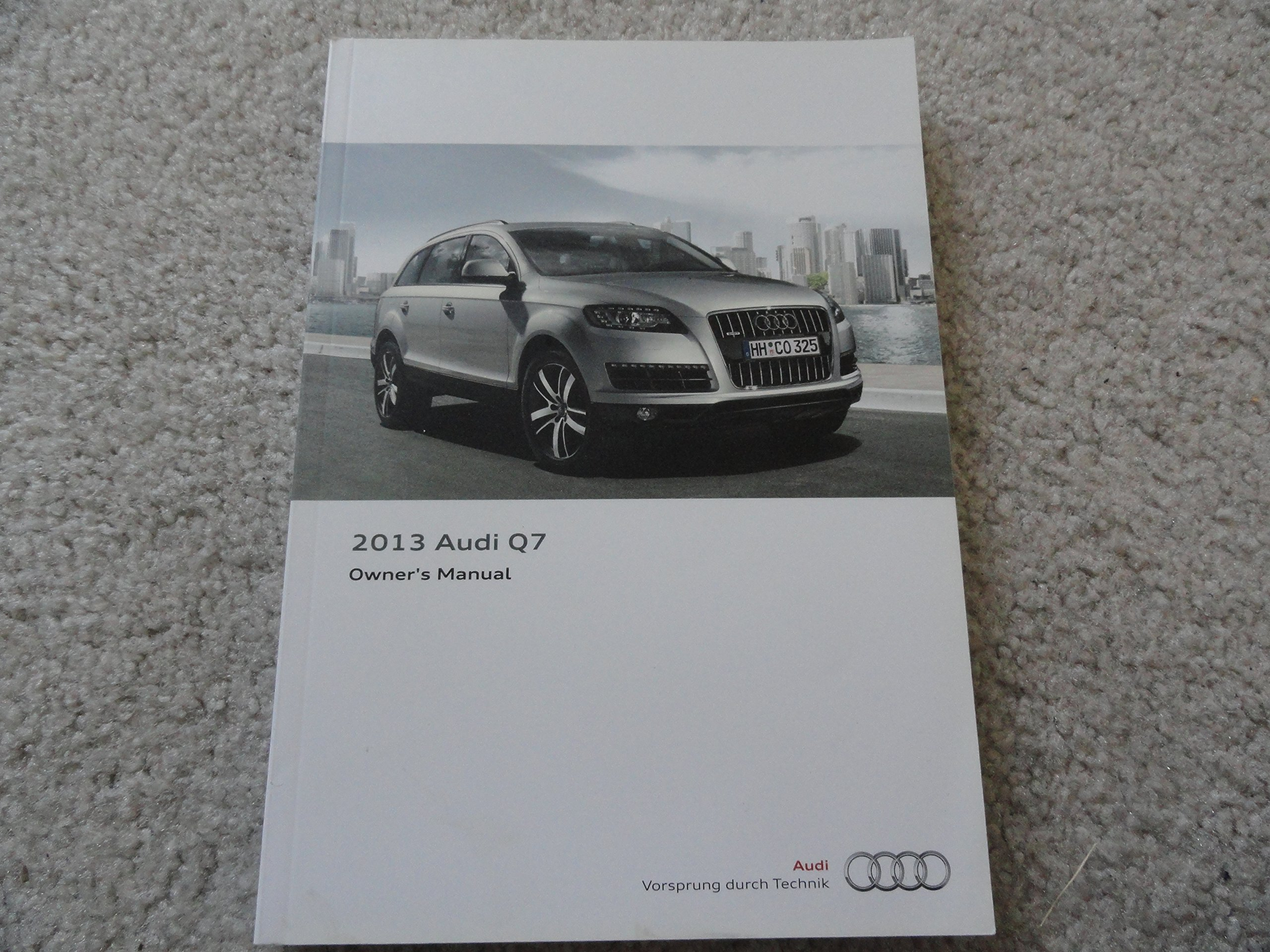 2013 audi q7 owners manual with nav manual audi amazon com books rh amazon com Audi R8 Spyder audi q7 2007 manual book