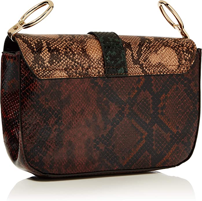 Dorothy Perkins Snake Way Shoulder Bag, Borsa a Spalla Donna