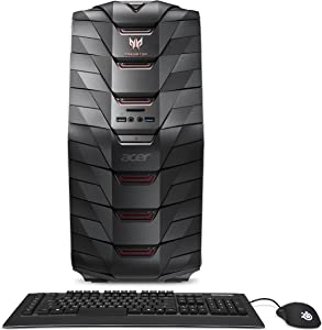 Acer Predator AG6-710-70001 Gaming Desktop (6th Gen Intel Core i7, Windows 10, 16GB DDR4, NVIDIA GTX 970)