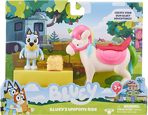 Bluey's Unipony Ride