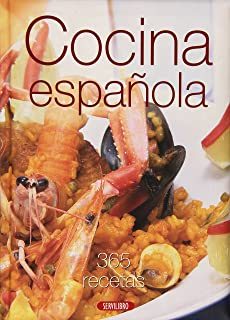 GRAN LIBRO DE LA COCINA ESPANOLA,365 RECETAS (IN SPANISH,)