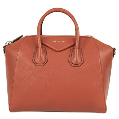 Image Unavailable. Image not available for. Color  Givenchy Women s Antigona  Sugar Goatskin Leather Satchel Bag ... 747ad05540a54