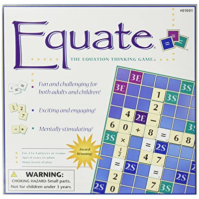 Conceptual Math Media Equate: The Equation Thinking Game: Toys & Games
