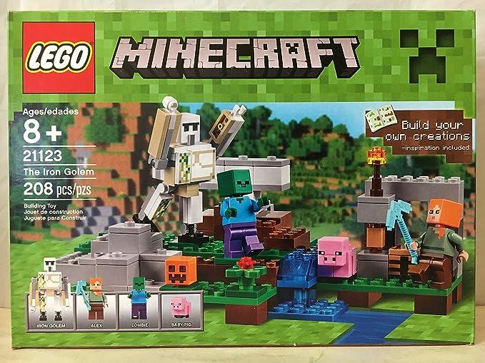 Amazon.com: LEGO Minecraft La bruja Hut & Lego Minecraft La ...