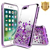 iPhone 7 Plus / 8 Plus Case w/[Tempered Glass