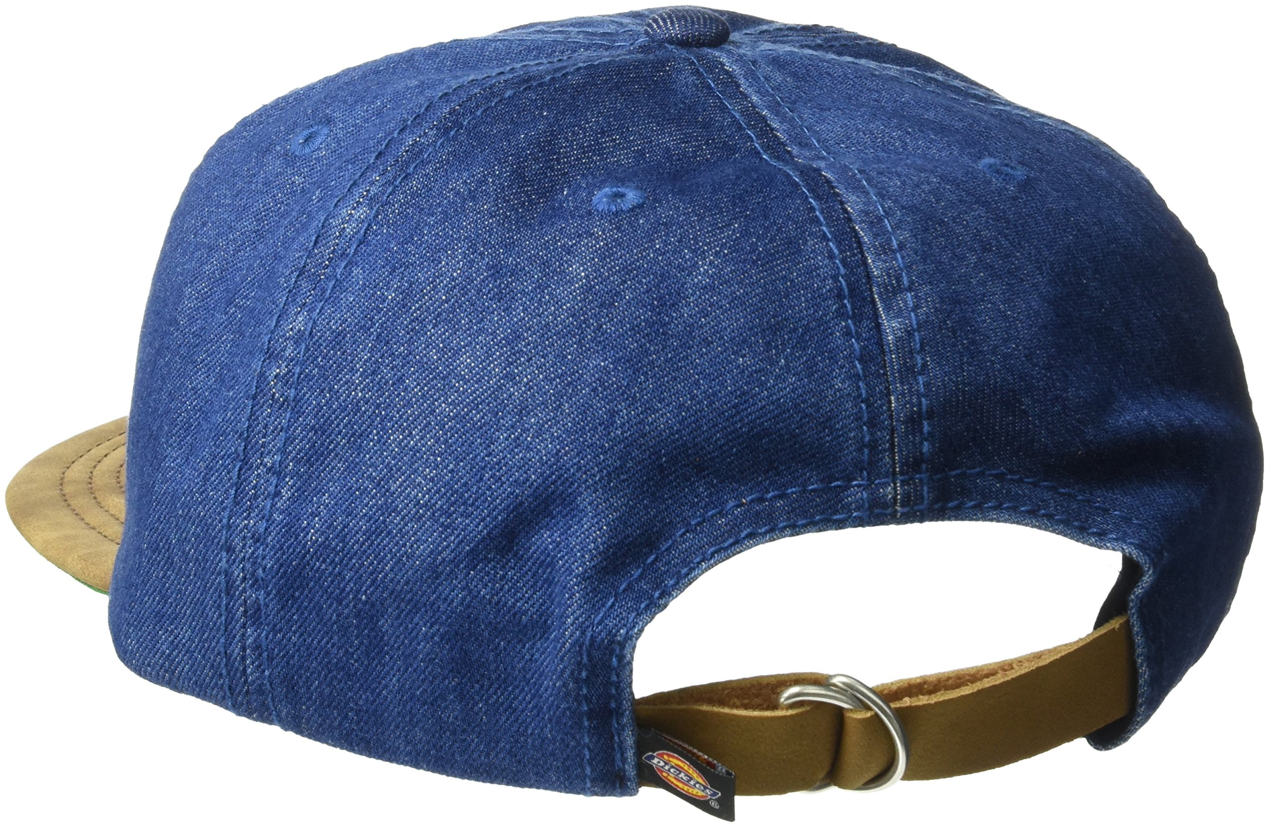 3b2e5300c99 Dickies Men s Leather Bill Slouch Snapback Baseball Hat ...